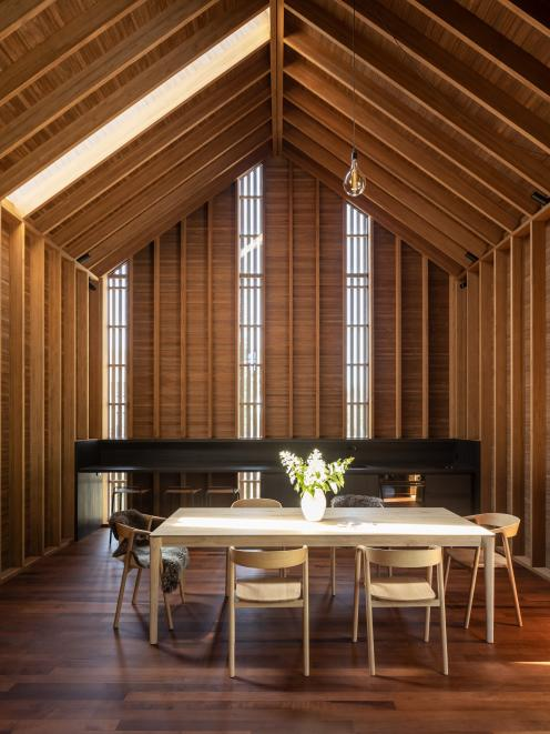 Abodo Showcase at Cardrona, by Assembly Architects, won an award at the 2020 New Zealand...