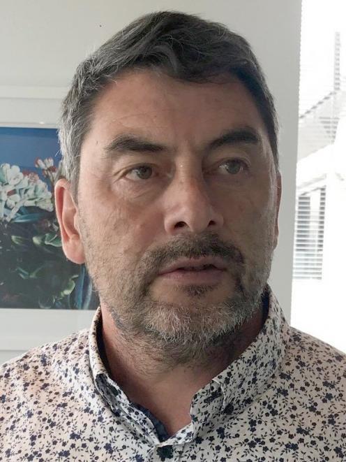 Tahito managing director Temuera Hall. PHOTO: SUPPLIED