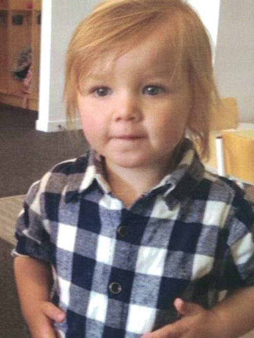 Lachie Jones' mother said he loved to run off hide while his father maintained he was well...