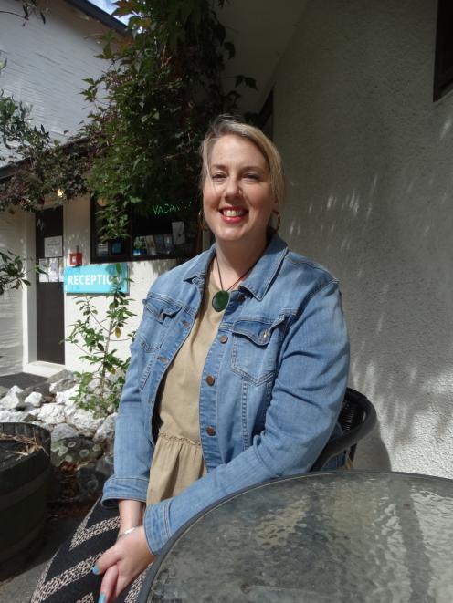 Wanaka Heights Motel manager  Jenny Cusworth. PHOTO: MARK PRICE