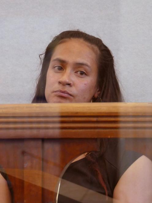 Hariroa Williams was jailed for two years four months, just over a month after giving birth....