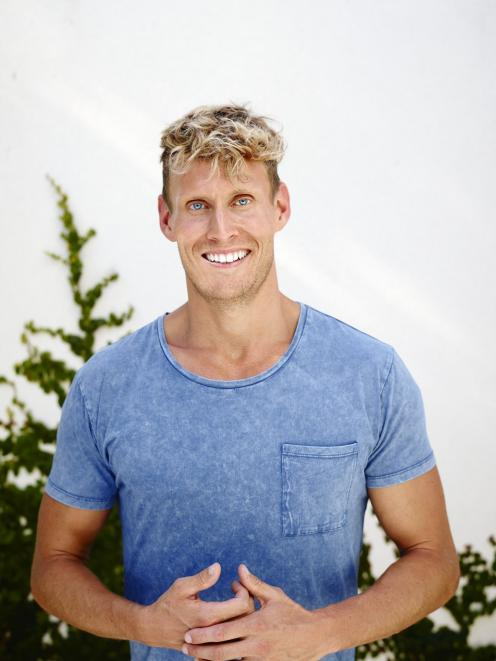Australian cookbook author and  television presenter Luke Hines PHOTOS: MARK ROPER