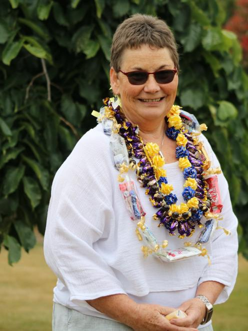 Oamaru Intermediate School principal Mary Healey retired yesterday, after 13 years with the...