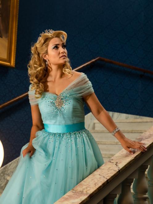Erin Wells as Cinderella. Photo: The Heather & Doug Records