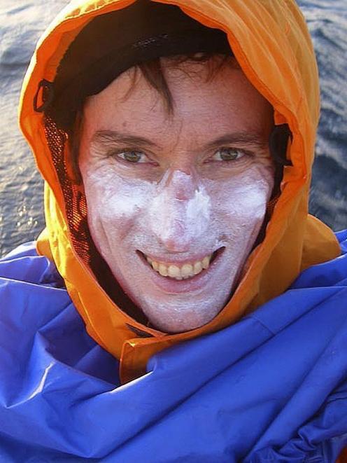 Australian kayaker Andrew McAuley. PHOTO: SUPPLIED