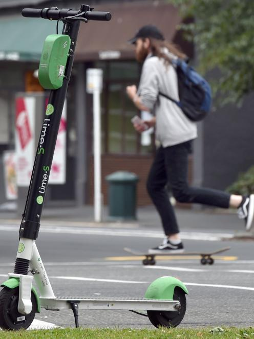 E-scooter providers in Dunedin could soon be charged 13c per ride by the Dunedin City Council....