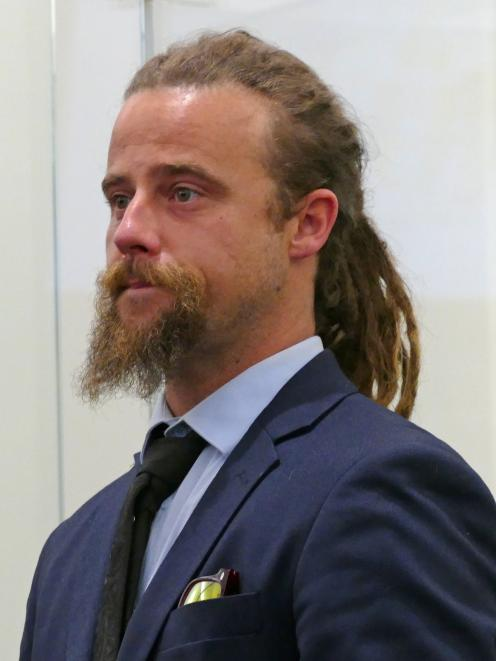 Michael Kinraid (33) says he has now given up cannabis and has found many benefits. PHOTO: ROB...