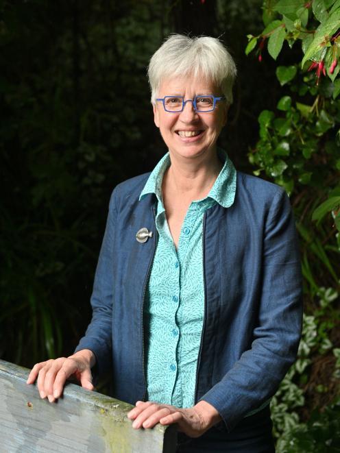 Wise Response chairwoman Liz Slooten. PHOTO: LINDA ROBERTSON