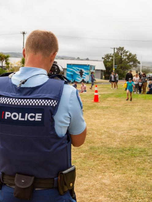 Whanau Fun Day co-organiser Constable Paul Lowe, of ...