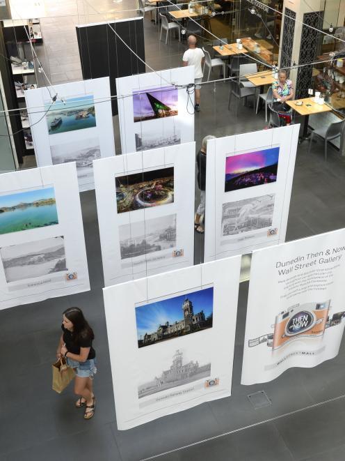 Wall Street Mall has been turned into a Dunedin street art gallery, highlighting 12 distinctly...