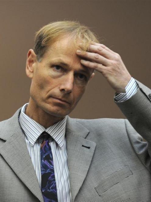 Sean Davison in the High Court at Dunedin in 2011. Photo: ODT
