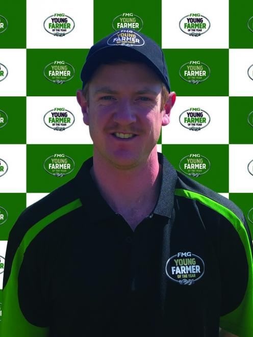 Dean Gardiner will represent the Amuri Basin Young Farmers' club in the Young Farmer of the Year...