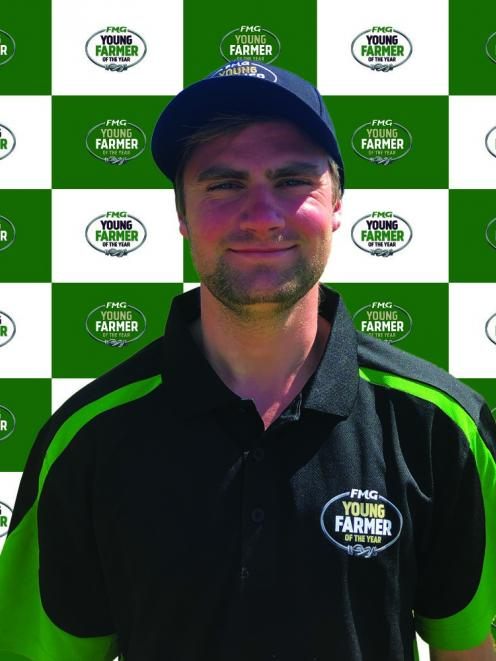Oxford's Jeremy Kilgour is looking forward to competing in the Young Farmer of the Year Tasman...