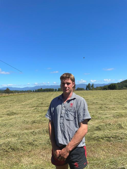 Mac Williams, of Jacksons on the West Coast, has won a 2021 New Zealand Young Farmers World...