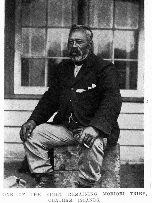 A 1907 photograph of a Moriori man. PHOTO: ODT ARCHIVE
