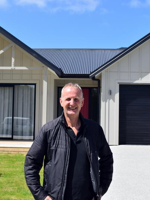 The Grange Lifecare Village director Geoff McPhail visits a villa at the $150million facility in...