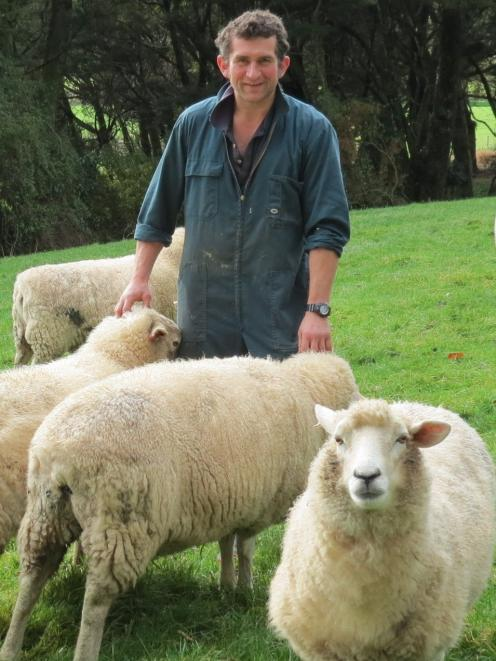Geordie Eade, of Granity Downs, Pourakino Valley, and his wife Frances will be showcasing their...