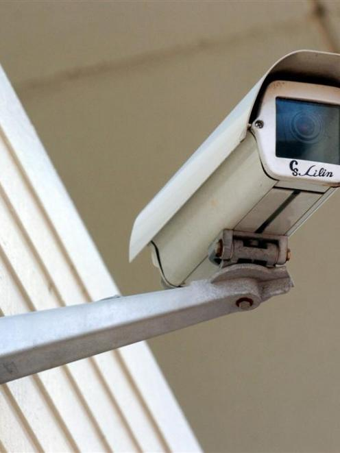 A live feed from this CCTV camera outside the Dunedin City Library is being monitored by police. ...
