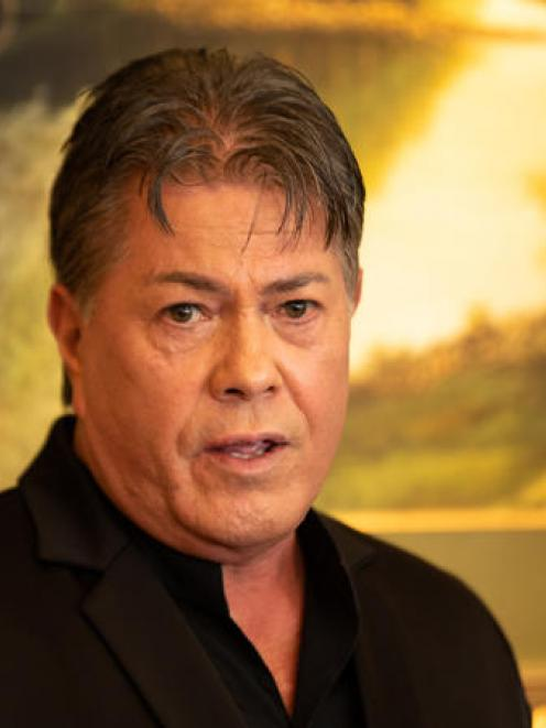 """Brian Tamaki: """"I think I'll be more productive out in the rest of the country."""" Photo: RNZ"""