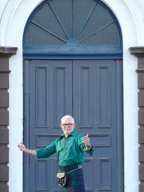 Royal Scottish Country Dance Society South Island Easter School organiser Quentin Currall, of...