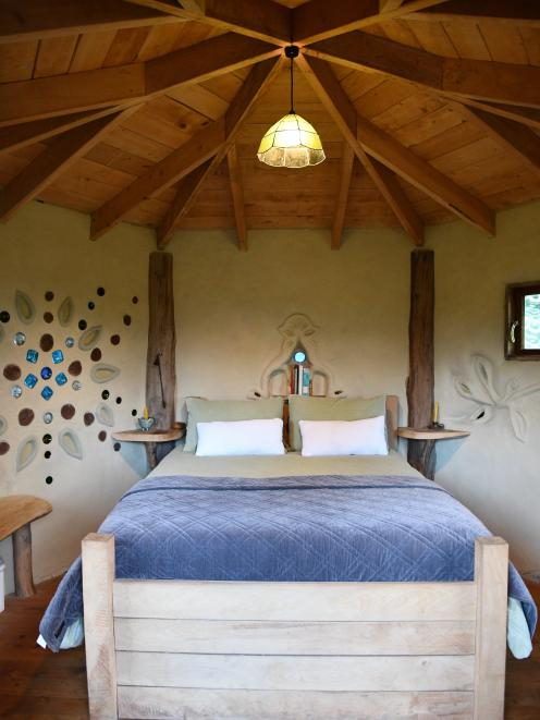 Cob Cottage offers a beautiful and comfortable stay.