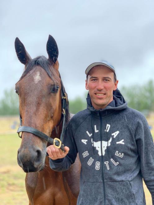 Jesse Alford. Photo: Harness Racing NZ