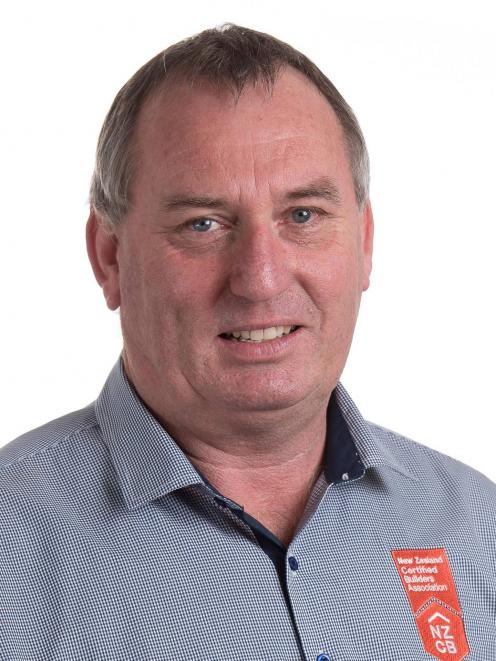 New Zealand Certified Builders Association chairperson Mike Craig. Photo: Supplied