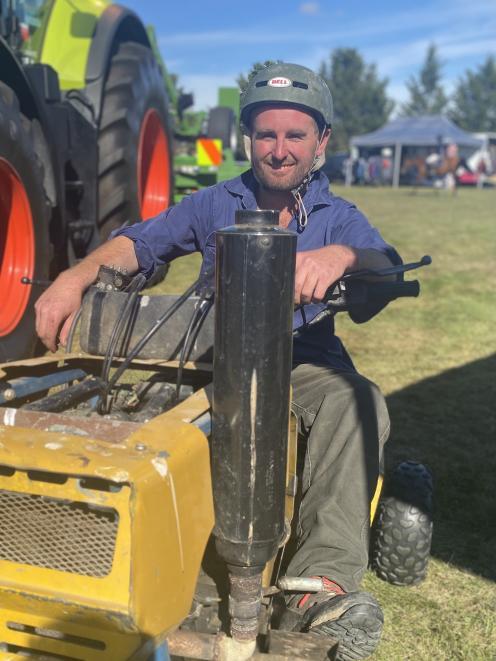 Macraes Moonlight farmer Tom McCone won the Strath Taieri A&P Show's Angus McCutcheon memorial...
