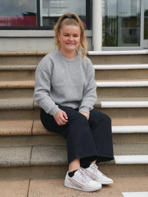 Otago and New Zealand handball player Annalise Wilson (18) was named the women's most valuable...