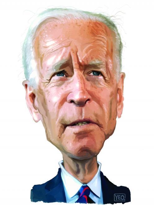 Joe Biden. Images: Yeo