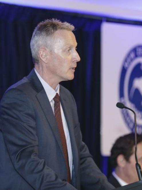 Police Association president Chris Cahill. Photo: RNZ / Rebekah Parsons-King