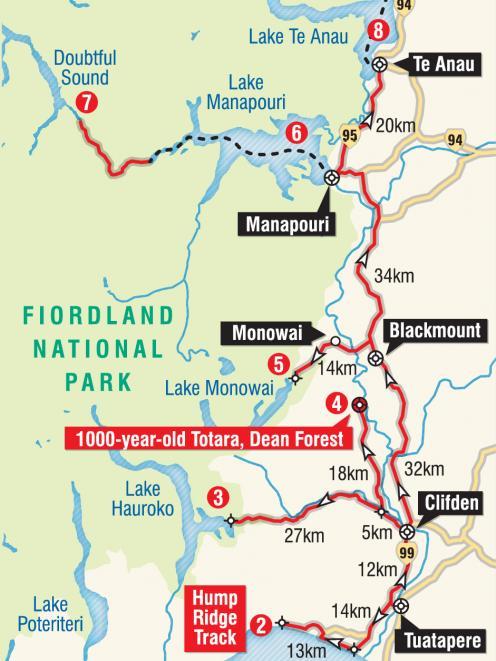 Fiordland National Park.