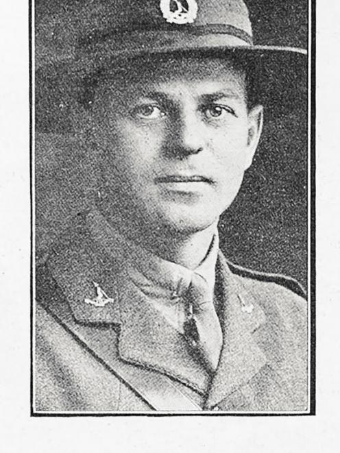 Captain Ernest Charles Parry of the first Battalion Auckland Infantry Regiment. Photo: Supplied /...