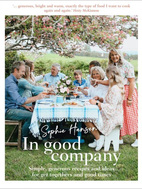 THE BOOK: In Good Company, by Sophie Hansen, published by Murdoch Books, RRP $45