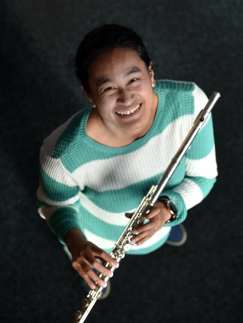 Dunedin Symphony Orchestra arts administrator Feby Idrus is one of the many musicians playing in...