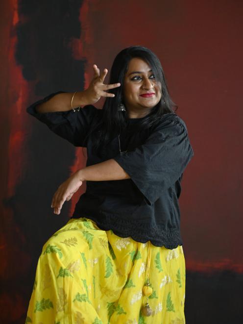 Natyaloka School of Indian Dance founder and choreographer Swaroopa Unni. PHOTO: LINDA ROBERTSON
