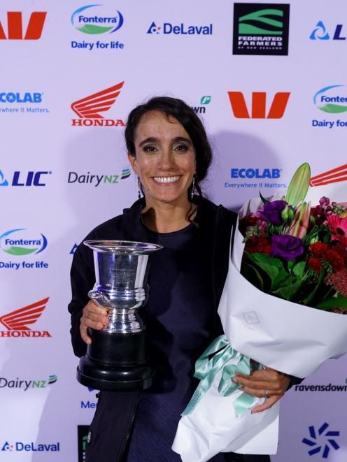 Ashburton dairy farm manager Maria Alvarez, named 2021 Canterbury-North Otago dairy manager of...