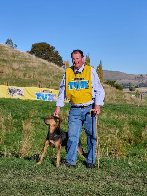 Grant Plaisted, of Waikari, and Coke claimed the straight hunt title at the North Island sheep...