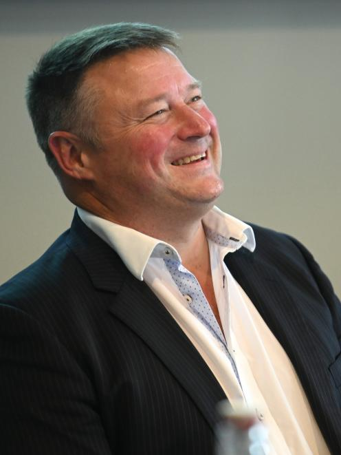Silver Fern Farms Co-operative's new chairman, Rob Hewett, pictured during its annual meeting in...