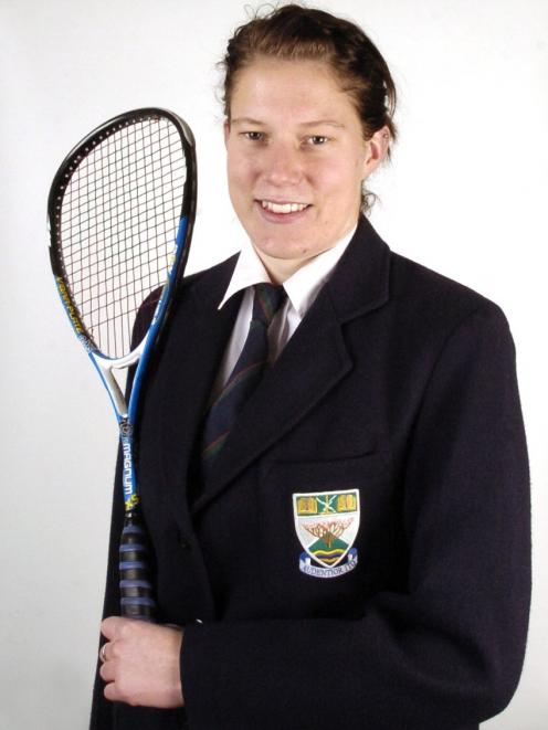 Alana Kairaoi as an Otago Daily Times Class Act recipient in 2007.PHOTO: GREGOR RICHARDSON