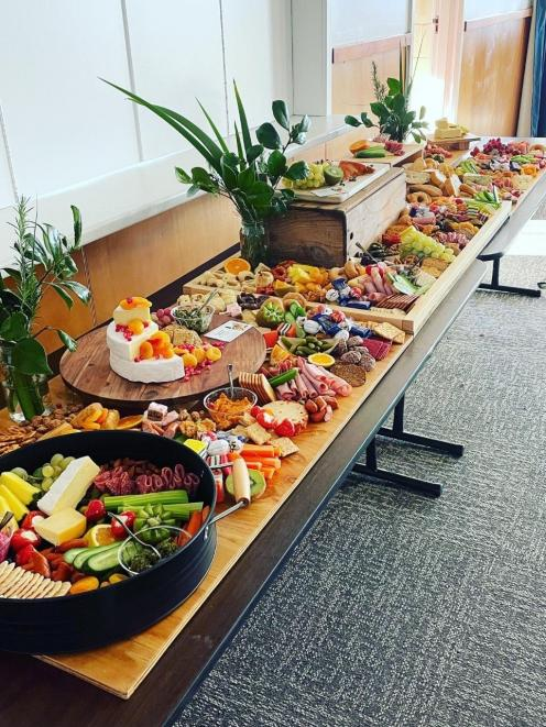 Lucy Gilbert's grazing tables and platters are hitting the spot where it matters: via clients'...