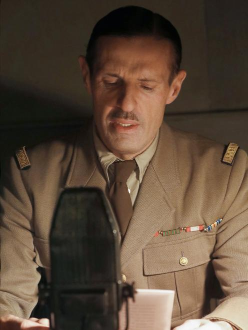 Lambert Wilson as General Charles de Gaulle.
