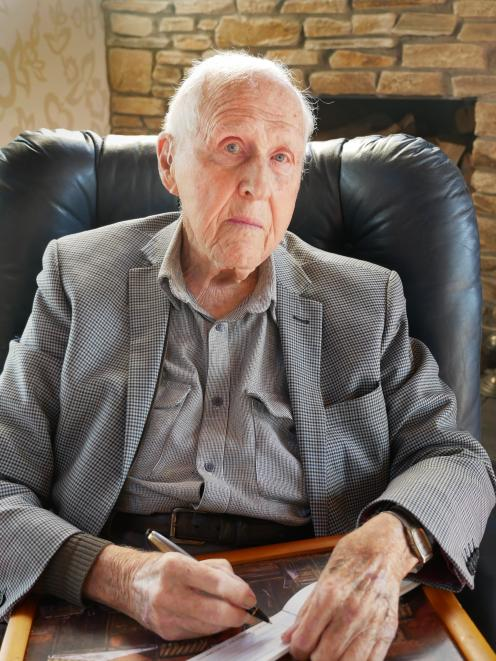 Former Dunedin Anglican minister Ian Nelson (91) feels ''absolutely gutted'' by the imminent...