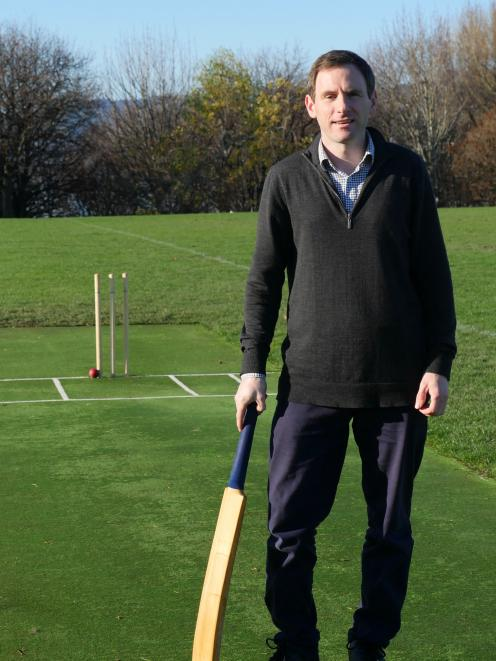 Luke Bremner is looking for players to help relaunch the Montecillo Cricket Club.PHOTO: SUPPLIED