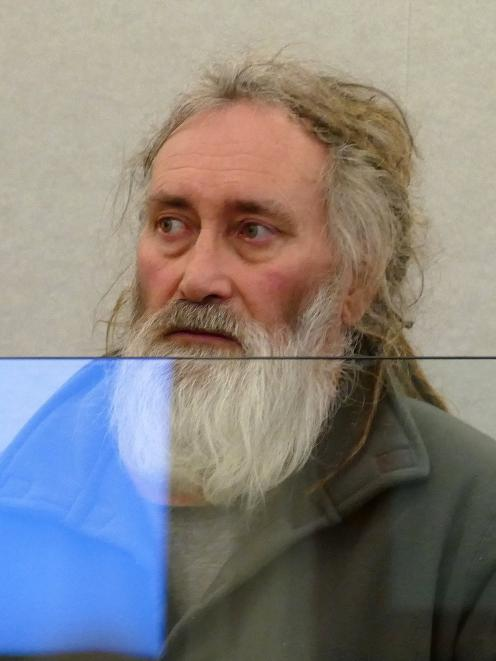 Christopher Boulter (58) says he ''lost the plot'' when he attacked his victim. PHOTO: ROB KIDD