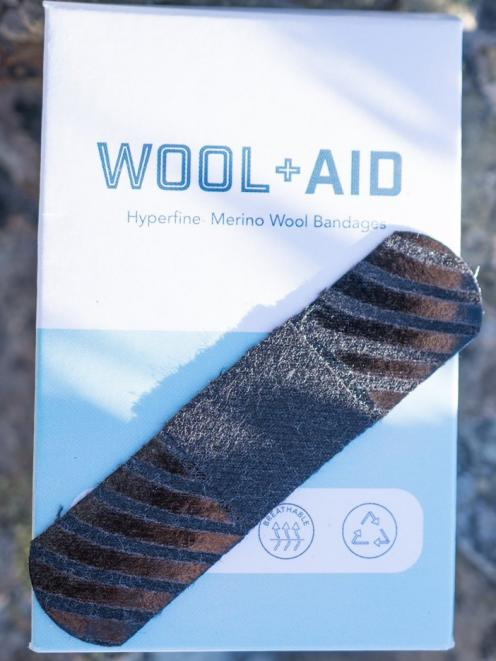 A Wool+Aid plaster.
