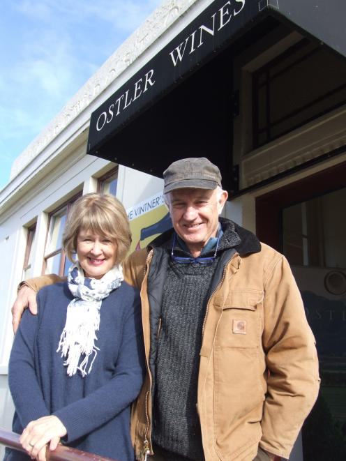 Anne and Jim Jerram have sold their wine company Ostler Wines to ACG Wines Ltd. PHOTO: SALLY RAE