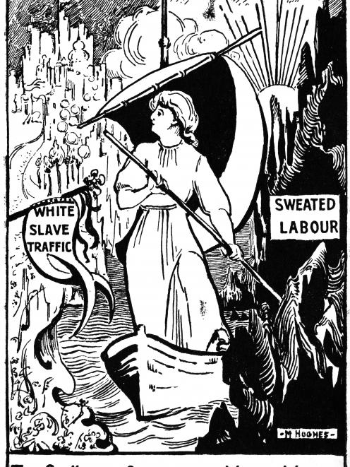 Many early-1900s feminists and suffragists argued ''white slave traffic'' was a direct result of...