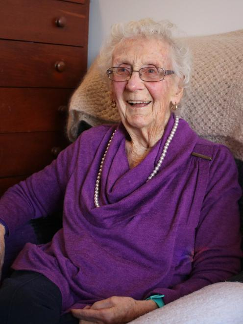 Palmerston's Elizabeth ''Betty'' McGregor turns 100 at the Kimberley Rest Home today. PHOTO:...