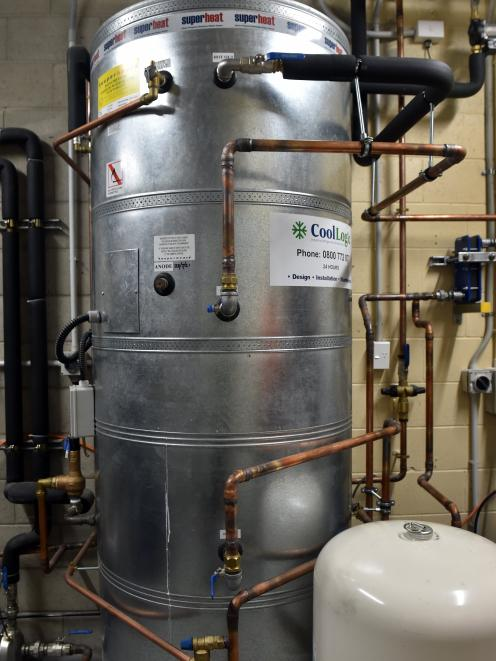 Southern Clam's two-stage trans-critical CO2 refrigeration plant includes a heat reclaim system...